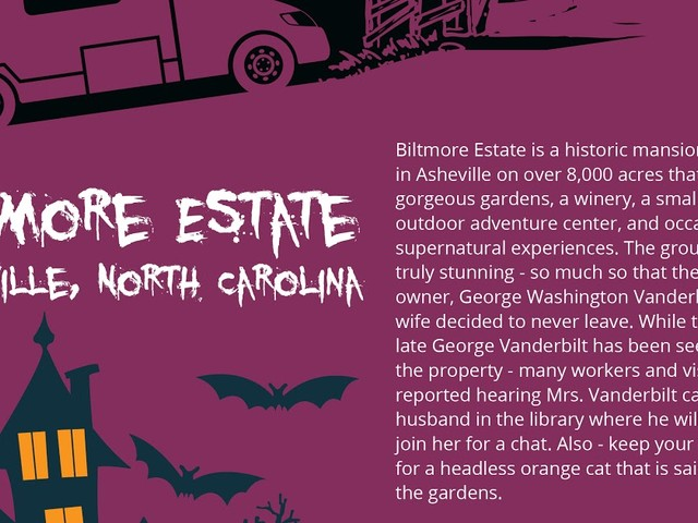 Infographic: Spooky Destinations