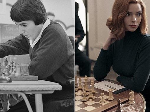 Soviet chess legend files $5million defamation suit against Netflix over 'Queen's Gambit'