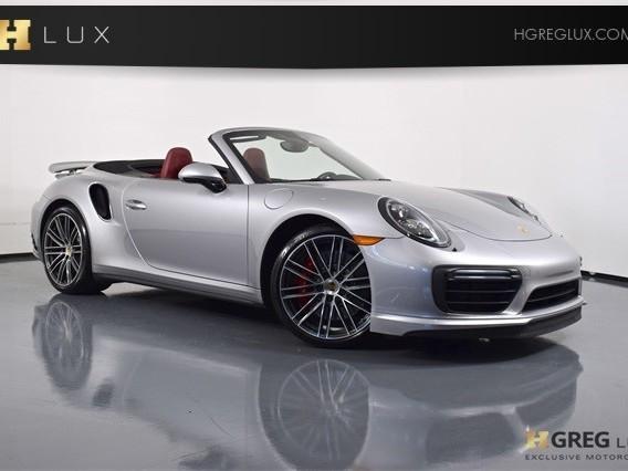 2017 Porsche 911--Turbo--Cabriolet
