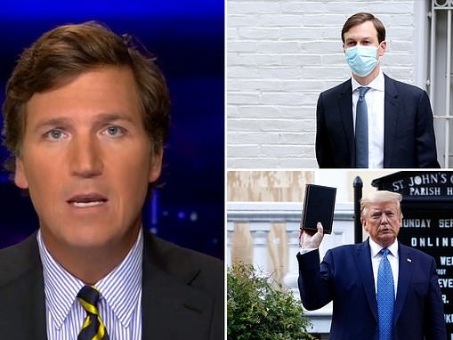 Fox News host Tucker Carlson goes after Jared Kushner claiming he has contempt for Trump's voters