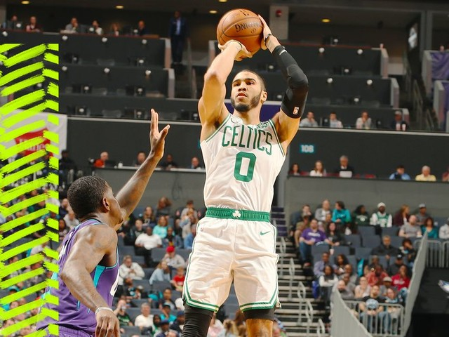 Jayson Tatum looks like a budding star for the Celtics even when he's struggling
