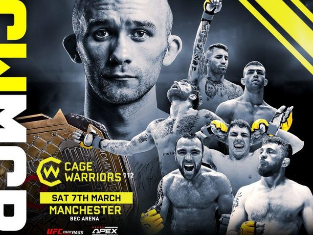 BW champ Cartwright set to defend title at Cage Warriors 112