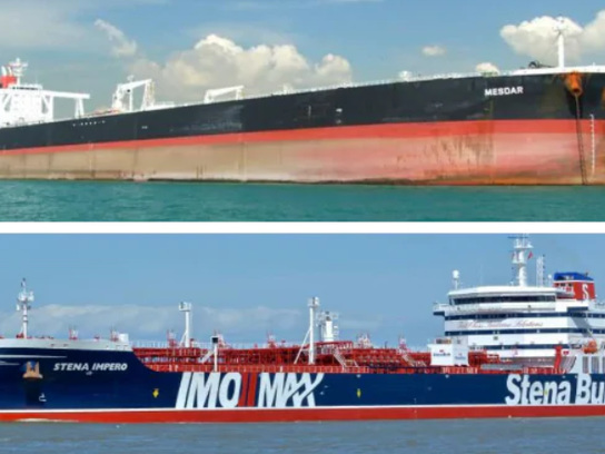 """UK Warns """"Robust"""" Response Coming If Iran Doesn't Release Tanker As US Jets Fly Over Gulf"""