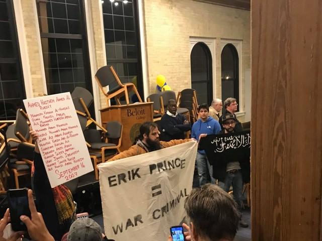 Beloit cancels Erik Prince talk after student protests