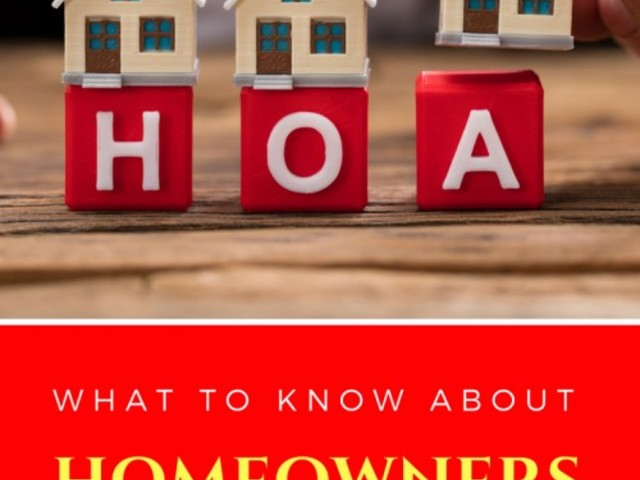 What to Know About Homeowners Associations (HOA)