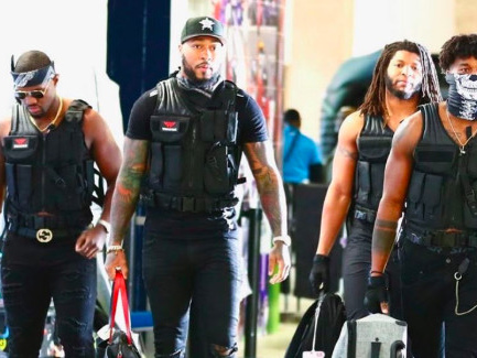 The Texans linebackers are the kings of pregame costumes
