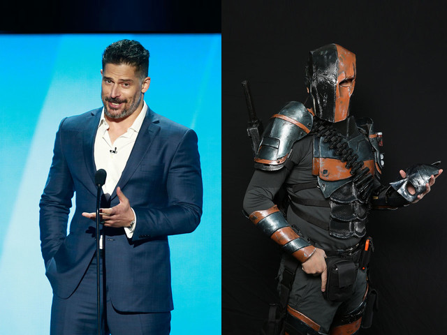 Here's a look at Joe Manganiello's badass Deathstroke from 'Justice League'