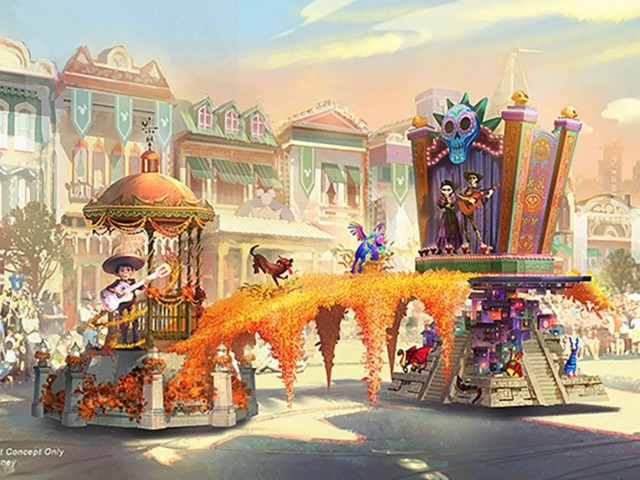 A Behind the Scenes Look at the Floats for the Magic Happens Parade Coming to Disneyland Park