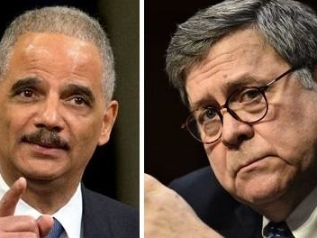 'Obama Wingman' Eric Holder Launches Fast, Furious Attack On AG Barr