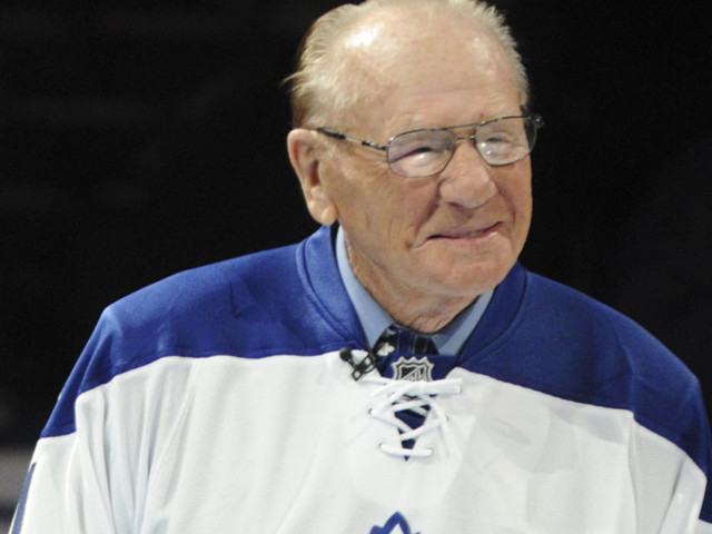 Johnny Bower, Maple Leafs Goalie And Hall Of Famer, Dies At 93