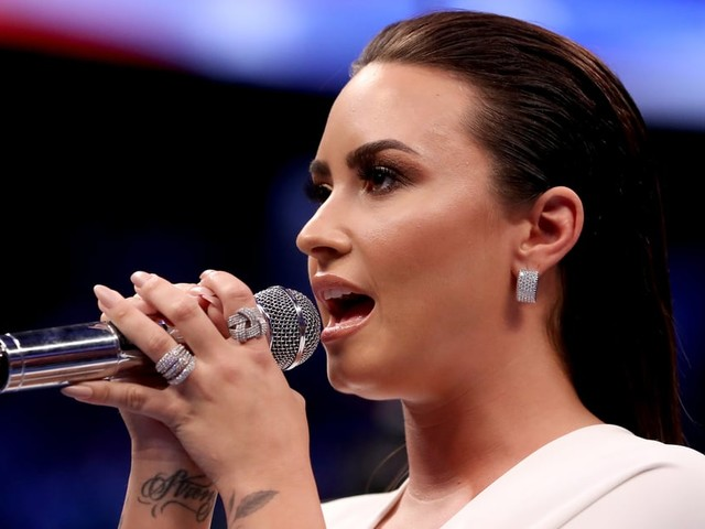 With Demi Lovato Performing the National Anthem, Super Bowl 2020 Will Be Star-Studded
