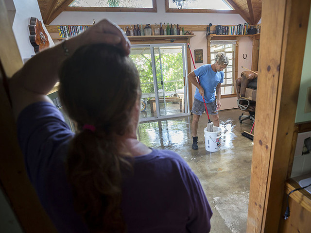 On Tybee Island, a glimpse of why flood insurance is a vexing US challenge