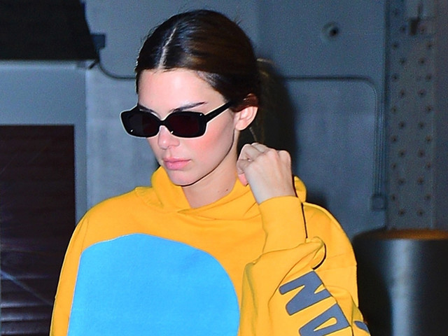 Kendall Jenner Arrives For Business Meetings & A Photoshoot in NYC
