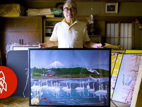 The Van Gogh of Microsoft Excel: How a Japanese Retiree Makes Intricate Landscape Paintings with Spreadsheet Software