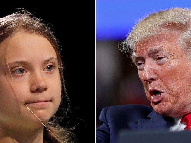 Greta Thunberg said it would be a waste of time for her to talk to Trump about climate change