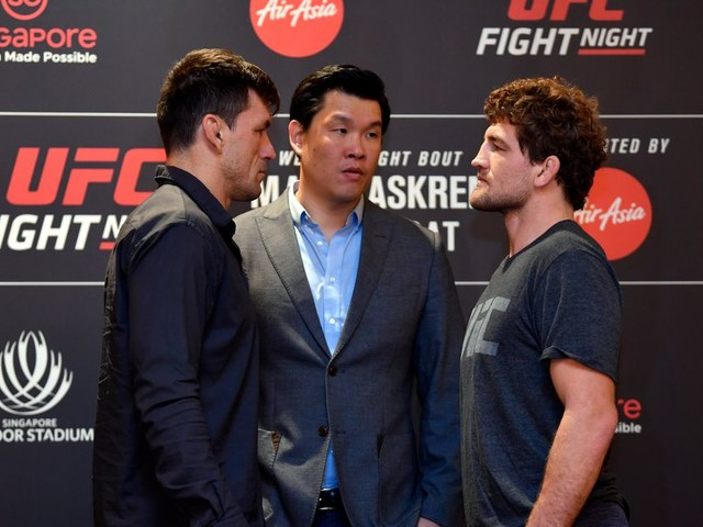 UFC Singapore results, discussion, play-by-play