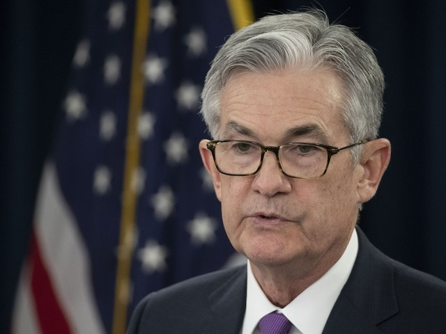 Fed Chairman Jerome Powell says there are 'conflicting signals and crosscurrents' in the economy