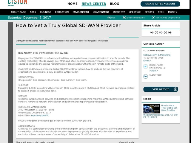 How to Vet a Truly Global SD-WAN Provider
