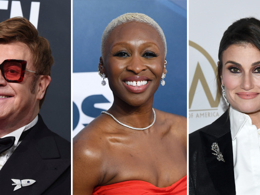 Oscars: Elton John, Cynthia Erivo, Idina Menzel, Chrissy Metz and Randy Newman to Perform at Ceremony