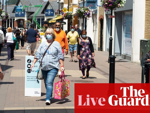 Coronavirus live: 'face masks in England to be ditched from 19 July' report says
