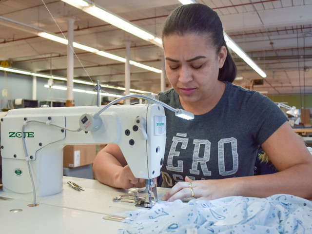 An Inside Look At Making Clothes In An American Factory