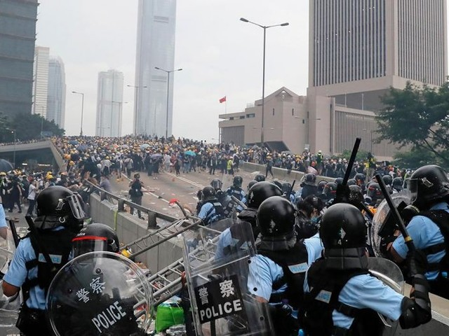 Let's Look At Both Sides Of The Hong Kong Protests