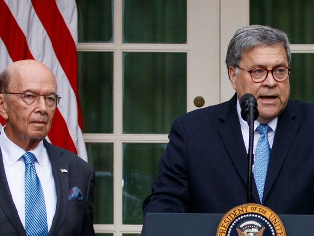 The House just voted to hold 2 Trump cabinet officials in criminal contempt of Congress