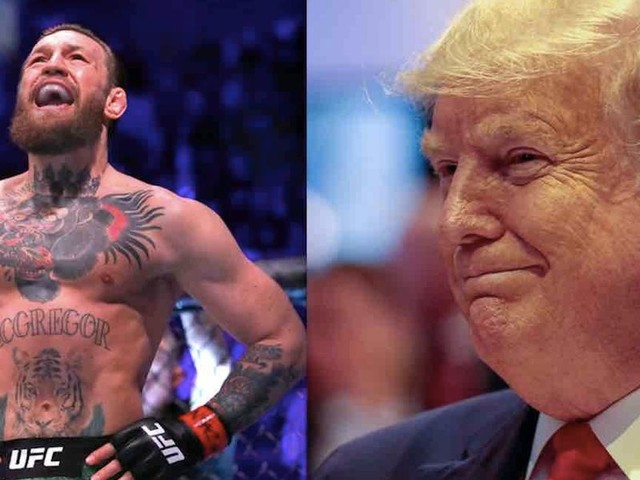 Left-wing mob rips UFC superstar Conor McGregor for praising Trump as 'quite possibly' greatest president of all time