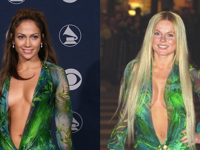 Jennifer Lopez's Iconic Green Versace Dress Was First Worn By Three Other Famous Faces