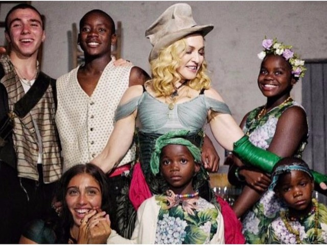 Madonna Celebrated Her 59th Birthday With All 6 of Her Adorable Children