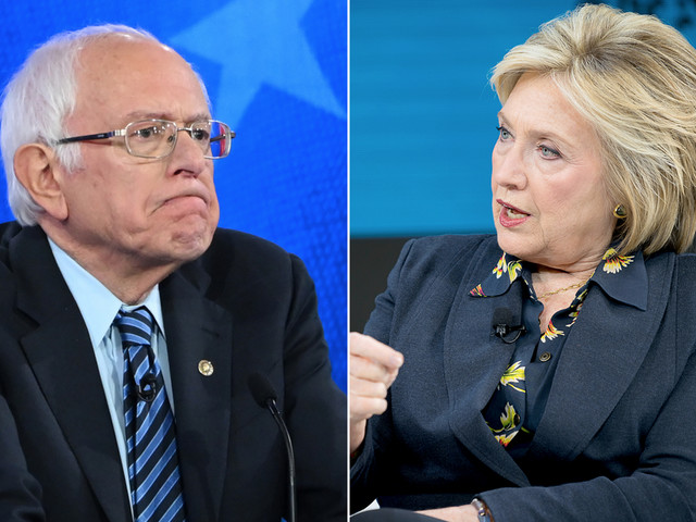 Clinton says 'nobody likes' Sanders and won't commit to backing him if he's the Democratic nominee