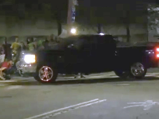 Inquiry ongoing after truck drives into RI immigration protest