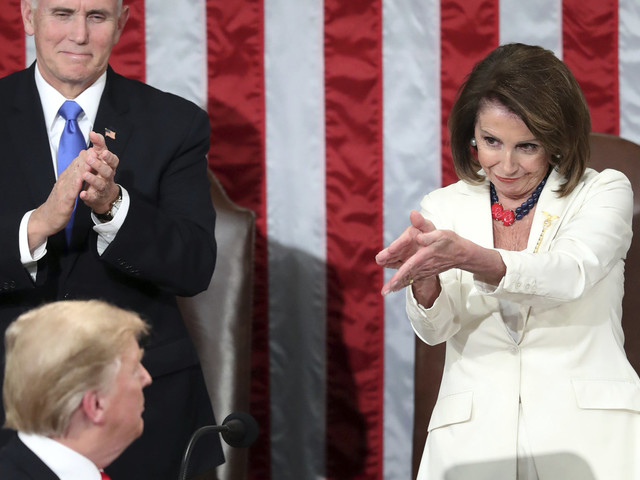 Bad Lip Reading Reveals What Pelosi And Pence Really Said During Donald Trump's SOTU