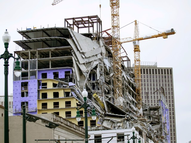 'Very dangerous situation': Two dead, one still missing after Hard Rock hotel collapse
