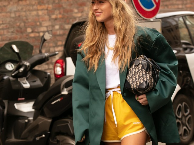 This Cool Color Trend Is Taking Over Fashion Month