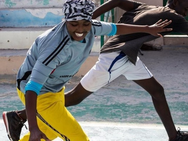 With A Game Of Basketball, Girls Dribble Around Extremism In Somalia