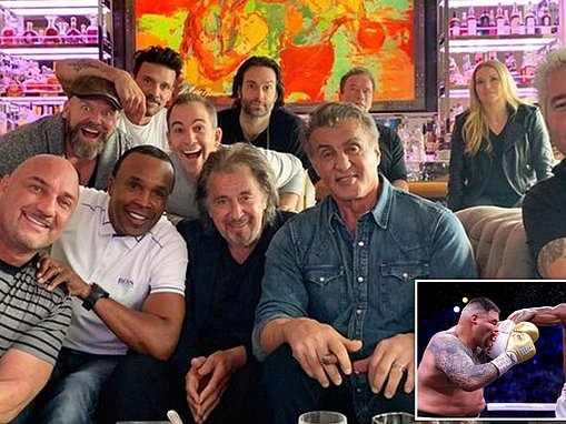 Sylvester Stallone hosts A-list boxing party with pal Arnold Schwarzenegger