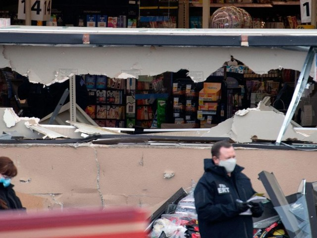 Eyewitnesses recall moment suspect entered grocery store and carried out the mayhem that killed at least 10 people