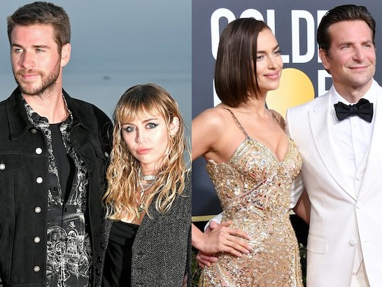 Bradley Cooper And Irina Shayk, Miley Cyrus And Liam Hemsworth: Celebrities Who Split In 2019