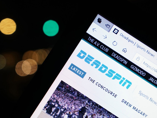 Deadspin comes back to life just as sporting events pause over coronavirus