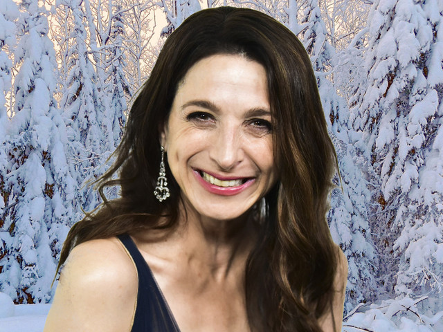 The Holidays begin for Marin Hinkle when she lands on the East Coast