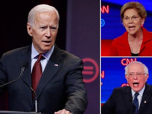 Joe Biden trashes Sanders' and Warren's universal healthcare plans ahead of his debate