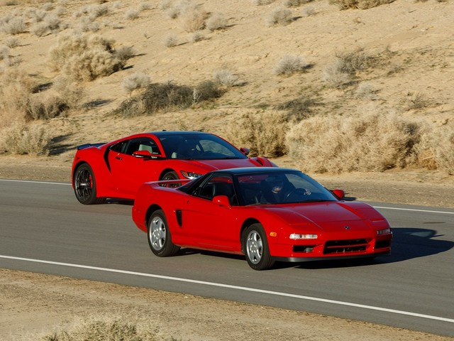A Look Back at 30 Years of the Acura NSX