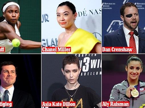 Time 100 Next:Pete Buttigieg, Chanel Miller, Aly Raisman, Coco Gauff, Asia Kate Dillon, Dan Crenshaw