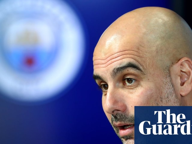 Manchester City 'still teenagers' in Champions League, says Pep Guardiola