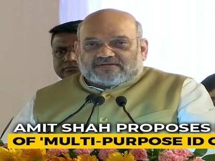 Digital Census In 2021; Amit Shah Proposes Idea Of Multipurpose ID Card