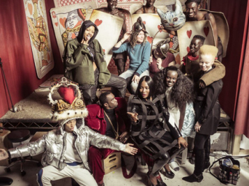 Pirelli's All-Black Alice & Wonderland Themed Calendar Is Exactly What We Need For 2018 - Lupita, Diddy, Naomi, Duckie, Whoopi & More