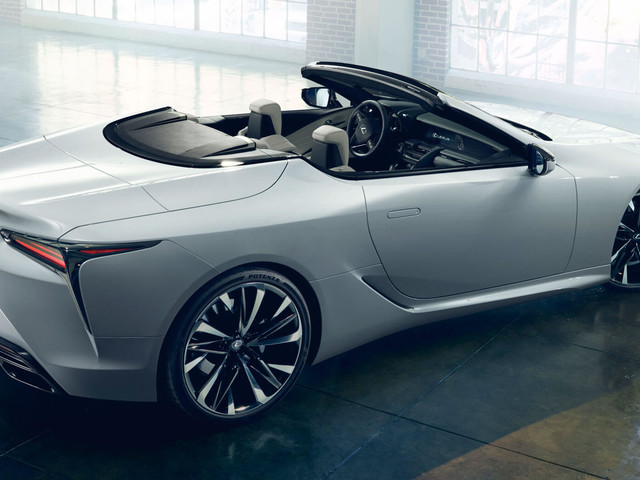 "Lexus LC Convertible ""Concept"" Is Obviously Ready To Enter Production"