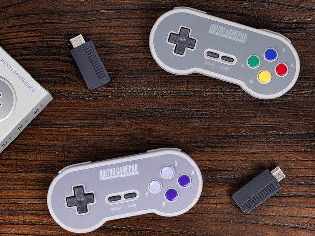 The SNES Classic is so much better with a wireless controller