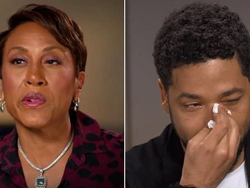 Jussie Smollett was two-and-a-half hours late for his ABC interview